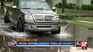 Flooding causing issues in Pinellas County