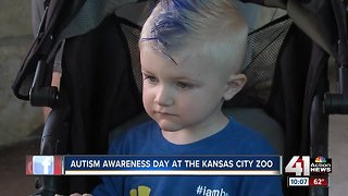 KC Zoo dedicates day to children with autism