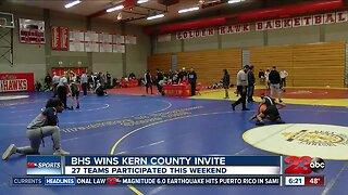 BHS wins Kern County Invite