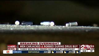 South Tulsa carjacking and armed robbery