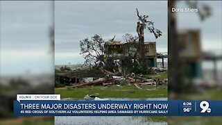 Red Cross in need of volunteers to work in shelters with disasters throughout the country