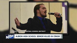Albion High School Student killed in crash