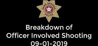 Sand Springs Officer-Involved Shooting