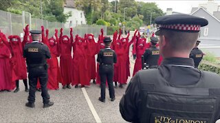 G-7 Protesters Take To The Streets And Beaches