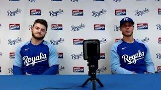 Isbel, Brentz primed for MLB debuts with Royals