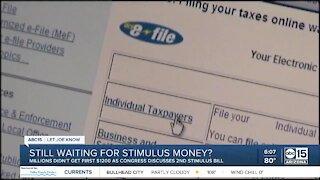 Still waiting for stimulus money