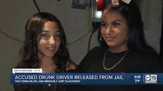 Accused drunk driver released from jail
