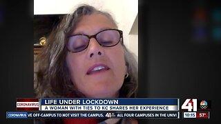 Woman in Italy describes government lockdown amid coronavirus outbreak