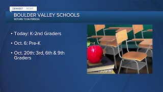 BVSD starts slow return to in-person learning