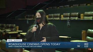 Roadhouse Cinemas reopening today amid coronavirus pandemic