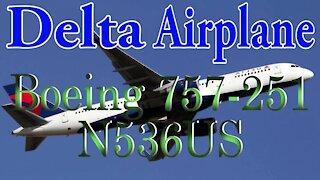 Delta Plane N536US Boeing 757-251