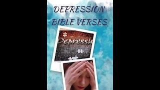 7 Bible verses for DEPRESSION // Scriptures for Depression// Depression Motivation 9 #shorts