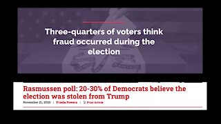 Unmasked: Has the truth about the 2020 election been uncovered ?