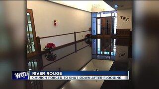 River Rouge church seeking help after extensive flood damage