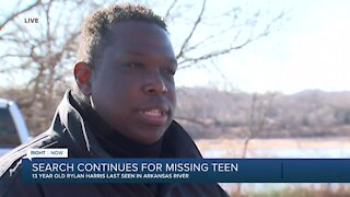 TCSO: Body of missing 13-year-old boy recovered after search along Arkansas River