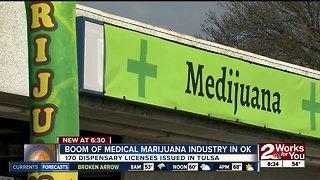 Boom of medical marijuana industry in Oklahoma