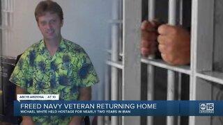 Veteran Michael White released from Iran prison, Arizona mom announces