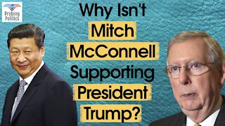 The REAL Reason Mitch McConnell Isn't Supporting President Trump
