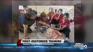 High school students from Arizona participate in trauma response program