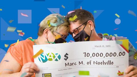 Ontario Couple's Reaction To Their $70M Lotto Win Will Make You Cry Tears Of Joy With Them