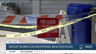 Local group works on reopening Southwest Florida beaches