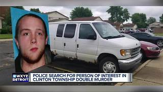 Person of interest sought in Clinton Township double murder