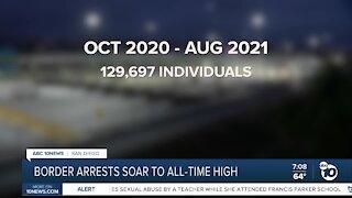 Border arrests all high time