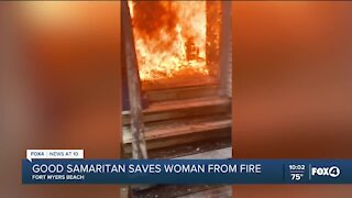 SWFL man saves woman and dog from burning house