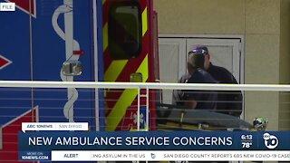 New ambulance service concerns