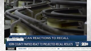Parties react to election results