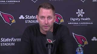 Cardinals HC Kliff Kingsbury out for Browns game after testing positive for COVID-19