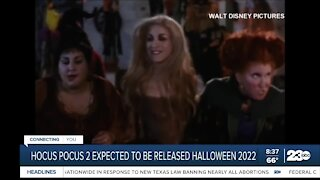 Hocus Pocus 2 expected to be released Halloween 2022