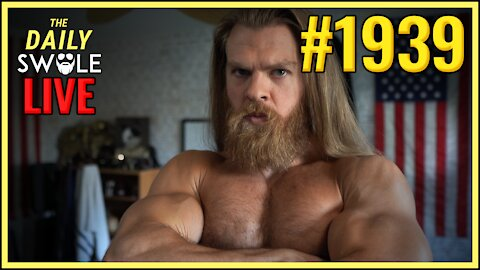 Daily Swole #1939 - She Hid A Stapler, 10 Pencils and A NOVEL Under Her Chesticles!