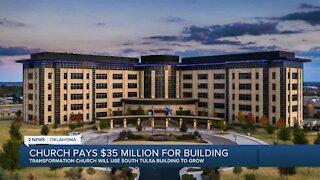 Church pays $35 million for building