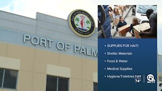 Palm Beach County Cares hosts donation drive to aid people in Haiti