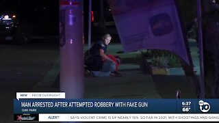 Man arrested after attempted robbery with fake AR-15 in Oak Park