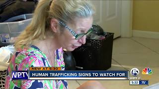 Human trafficking signs to signs to watch for