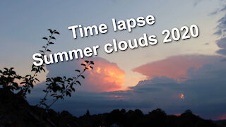 Time lapse - Summer clouds 2020 - Relaxing music Allabout by Lauren Duski