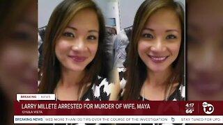 Larry Millete arrested for murder of missing Chula Vista wife, Maya