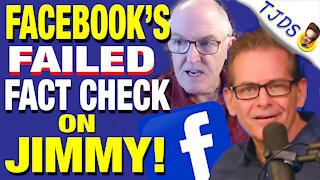 Facebook Censors Jimmy's Video While Confirming It!