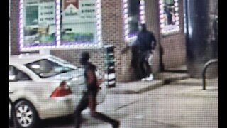 Man and woman shot & killed inside vehicle with a child in the back at Detroit gas station