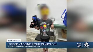 COVID-19 vaccine safe for children ages 5-11, Pfizer says