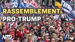 Rassemblement Pro-Trump à Washington, le 12 décembre pour demander des élections honnêtes