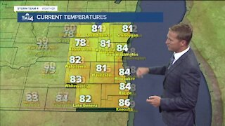 Chances of showers Friday afternoon