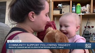 Ahwatukee community supporting wife of mid-air collision victim