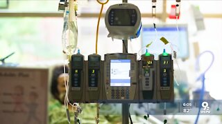 National Guard members deployed to Kentucky hospitals