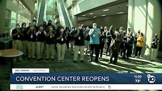 Convention Center reopens this weekend