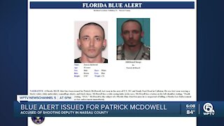 Florida Blue Alert issued for man suspected of killing deputy in north Florida