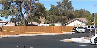 Vegas PD: Human remains found in trash can on Arville Street