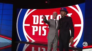 Pistons select Cade Cunningham with first overall pick in NBA Draft
